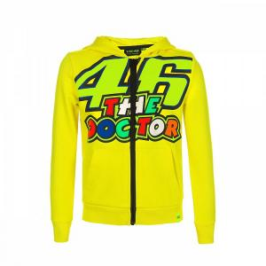 Bluza dziecięca VR46 Valentino Rossi żółta