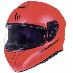 Integralny kask motocyklowy MT Targo czerwony matowy wyprzedaż