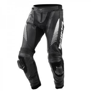 Skórzane spodnie motocyklowe Shima Apex czarne wyprzedaż