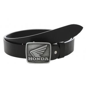 Pasek skórzany z klamrą Honda