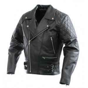 Skórzana kurtka motocyklowa RSA Old School - II. jakość
