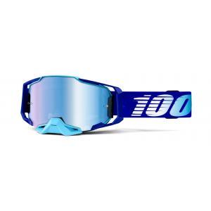 Gogle 100% ARMEGA Royal niebieskie (niebieska szyba)