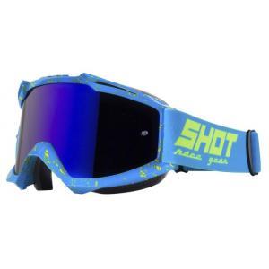 Gogle Shot Iris Scratch niebiesko-fluo żółte wyprzedaż