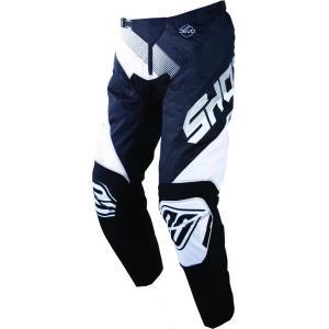 Motocrossowe spodnie Shot DEVO Ultimate czarno-białe wyprzedaż