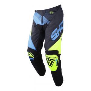 Motocrossowe spodnie Shot DEVO Ultimate niebiesko-fluo żółte