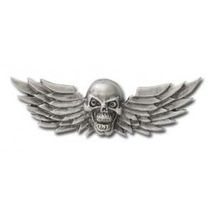 Przylepny emblemat Skull Wings