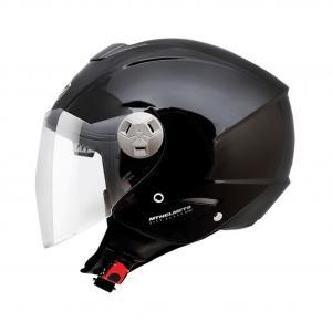 Otwarty kask motocyklowy MT City Eleven SV czarny wyprzedaż