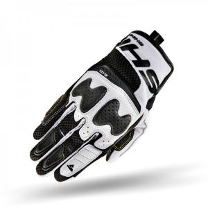 Rękawice motocyklowe Shima Blaze biało-czarne
