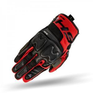 Rękawice motocyklowe Shima Blaze czarno-czerwone