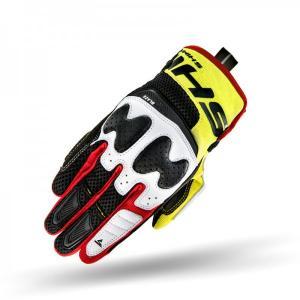 Rękawice motocyklowe Shima Blaze czarno-fluo żółte