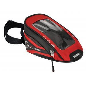 Tankbag na motocykl Oxford M1R Micro czarno-czerwony