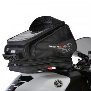Tankbag na motocykl Oxford Q30R QR czarny