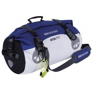 Torba wodoodporna Oxford Aqua RB-30 Roll Bag biało-niebieska