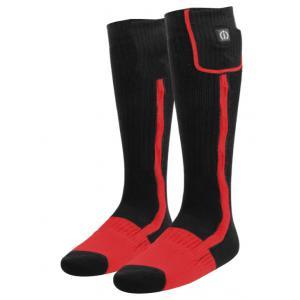 Ogrzewane skarpetki KLAN-e czarno-czerwone