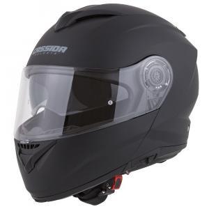 Szczękowy kask motocyklowy Cassida Compress 2.0 czarny matowy