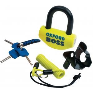 Zamek Oxford Big Boss U profil żółto-czarny 16 mm