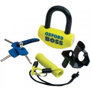Zamek Oxford Boss U profil żółto-czarny 12,7 mm