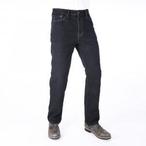 Jeansy motocyklowe Oxford Original Approved Jeans czarne skrócone wyprzedaż