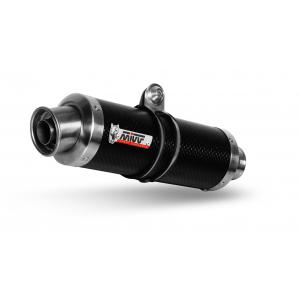 2 silencers kit MIVV GP K.025.L2S Carbon it doesn't fit on the SX version with side-bags