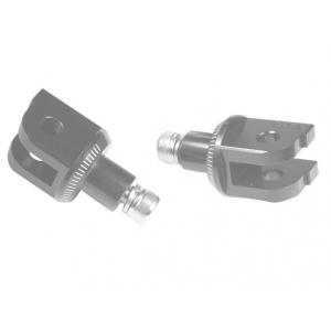 Footpeg adapters PUIG 6357N black