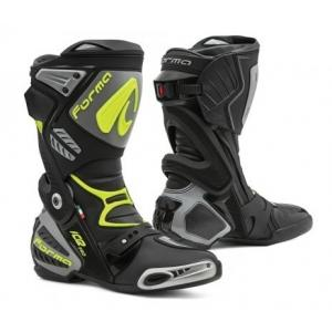 Buty motocyklowe Forma Ice Pro czarno-szaro-fluo żółte