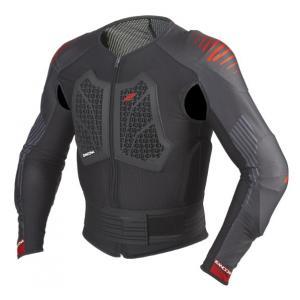 Ochraniacz ciała Zandona Action X7 czarno-czerwony 170-179 cm