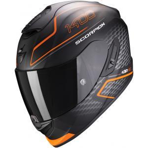 Integralny kask motocyklowy Scorpion EXO-1400 Air Galaxy czarno-pomarańczowy wyprzedaż
