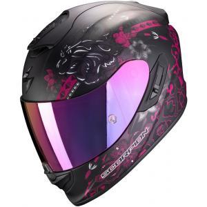 Integralny kask motocyklowy Scorpion EXO-1400 Air Toa czarno-różowy