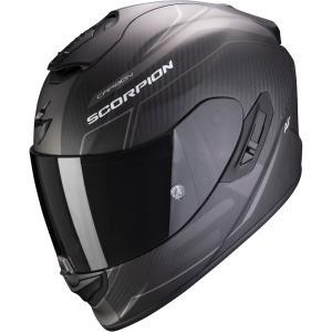 Integralny kask motocyklowy Scorpion EXO-1400 Carbon Air Beaux czarno-srebrny