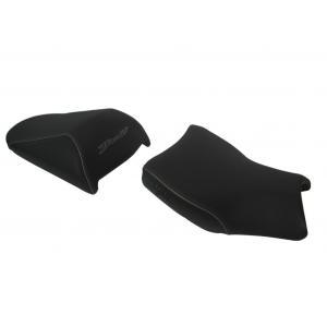 Comfort seat SHAD SHS0B610C black, grey seams