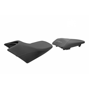 Comfort seat SHAD SHH0C111CH heated black/grey, grey seams (without logo)