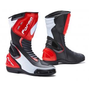 Buty motocyklowe Forma Freccia czarno-biało-czerwone