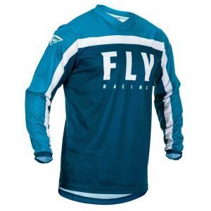 Motocrossowa koszulka FLY Racing F-16 2020 niebiesko-biała
