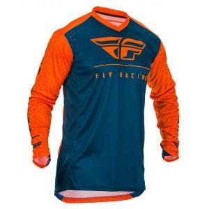 Motocrossowa koszulka FLY Racing Lite 2020 pomarańczowo-niebieska