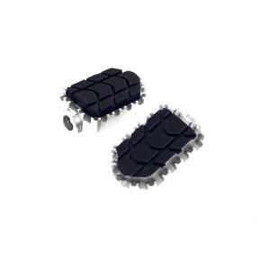 Spare rubbers PUIG ENDURO 8133U black