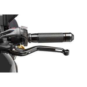 Clutch lever without adapter PUIG 270NO long black/gold