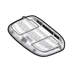 Bottom rack SHAD D1B40PAR for SH45/SH39/SH42/SH46
