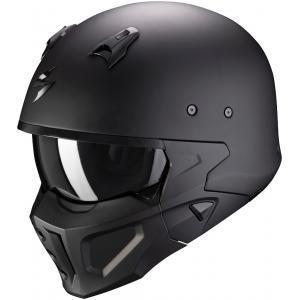 Kask motocyklowy Scorpion COVERT-X Solid czarny matowy