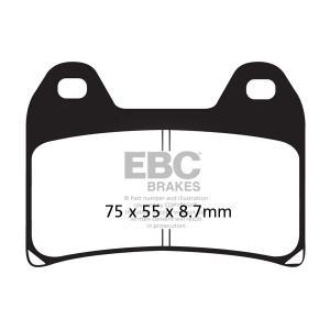 Brake pads EBC FA244HH