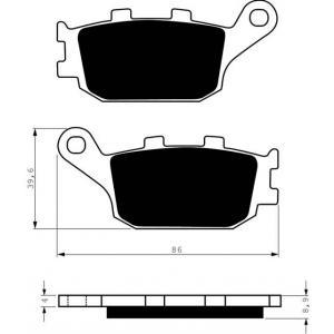 Brake pads GOLDFREN 021 S3