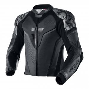 Skórzana kurtka motocyklowa Rebelhorn Rebel czarna