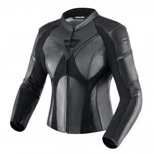 Damska skórzana kurtka motocyklowa Rebelhorn Rebel czarna