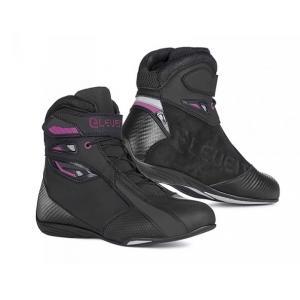 Damskie buty motocyklowe Eleveit T SPORT WP czarno-fioletowe