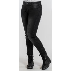 Damskie jeansy motocyklowe BROGER Florida czarne wyprzedaż