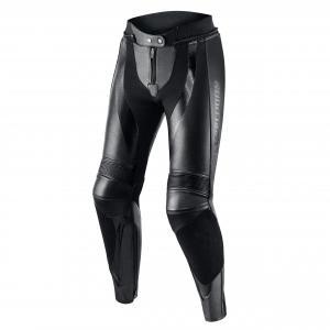 Damskie skórzane spodnie motocyklowe Rebelhorn Rebel czarne