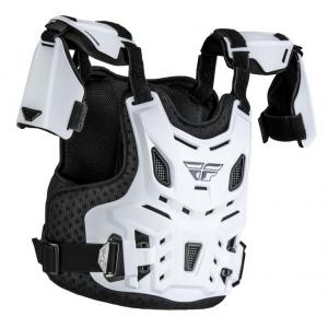 Dziecięcy ochraniacz ciała FLY Racing Revel Roost biały