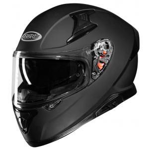 Integralny kask motocyklowy Ozone Arrow czarny matowy