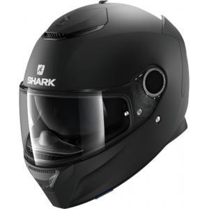 Integralny kask motocyklowy SHARK SPARTAN Blank czarny matowy