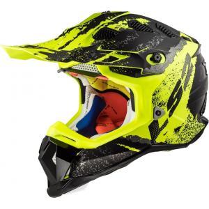 Motocrossowy kask LS2 MX470 Subverter Claw czarno-fluo żółty wyprzedaż