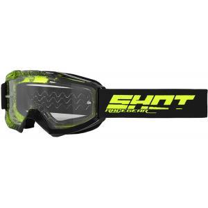 Gogle Shot Assault Elite czarno-fluo żółte